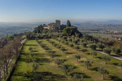 CASTLE FOR SALE IN UMBRIA, ASSISI