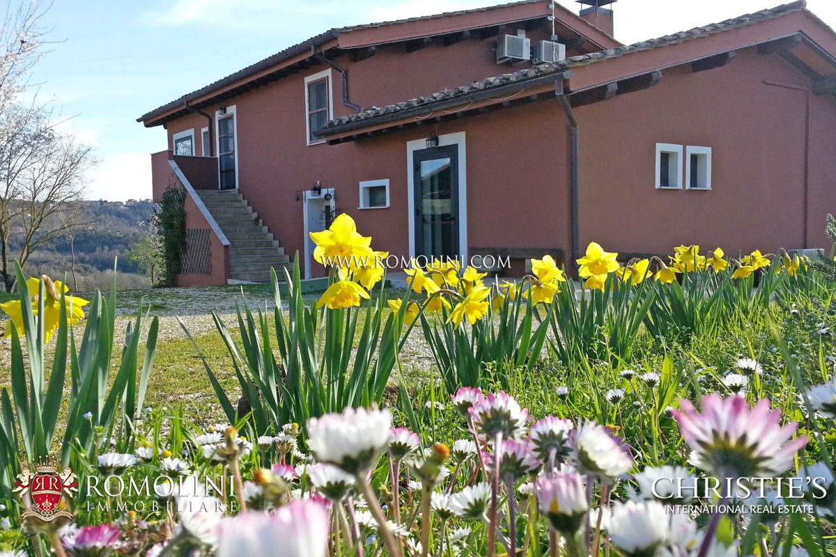 ORGANIC FARM FOR SALE MAGLIANO SABINA LATIUM
