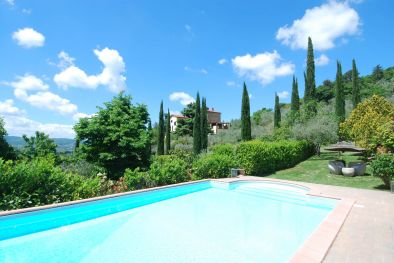 VILLA WITH PANORAMIC VIEW FOR SALE, AREZZO