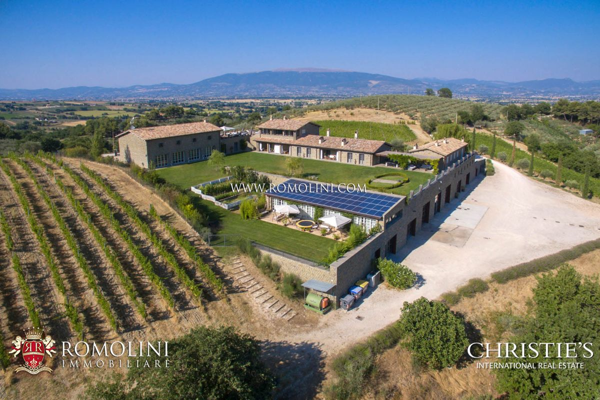 STATE OF THE ART WINERY AND VINEYARDS FOR SALE IN ITALY, MULTI-AWARDED SAGRANTINO MONTEFALCO WINE