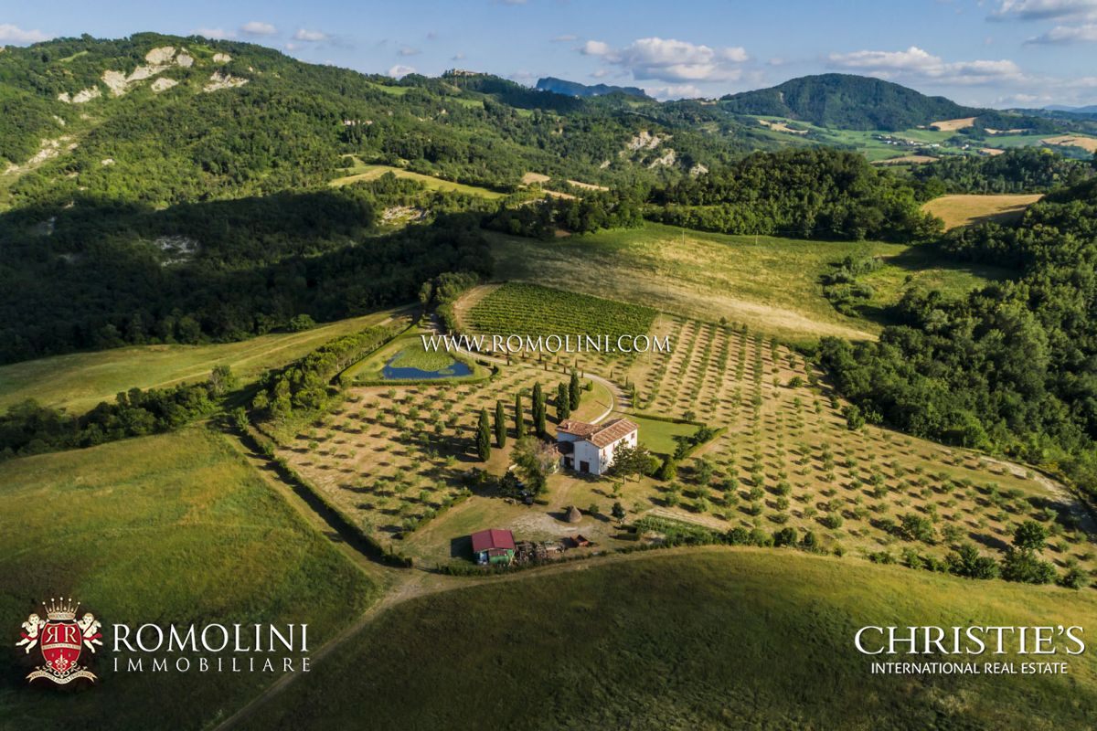 EMILIA-ROMAGNA: FARMHOUSE WITH 48 HA OF LAND AND VINEYARD FOR SALE | Romolini - Christie's