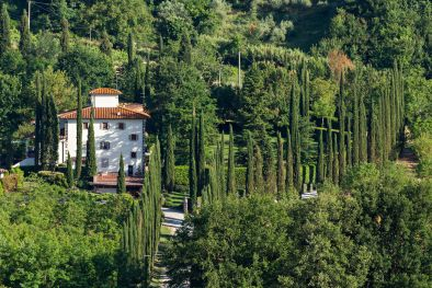 HISTORIC MANSION WITH 33 HECTARES FOR SALE IN VALDARNO, TUSCANY | Romolini - Christie's