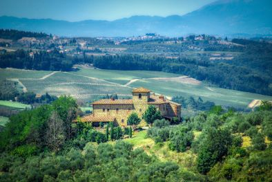 FARMHOUSE WITH MEDIEVAL TOWER FOR SALE, SAN CASCIANO VAL DI PESA | Romolini - Christie's