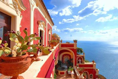 AMALFI COAST: POSITANO LUXURY VILLA FOR RENT