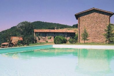 ORGANIC FARM WITH OLIVE GROVE, FRUIT TREES FOR SALE IN GUBBIO