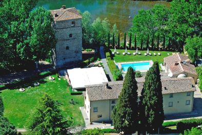 HISTORICAL PROPERTY WITH VILLA AND TOWER FOR SALE IN TUSCANY