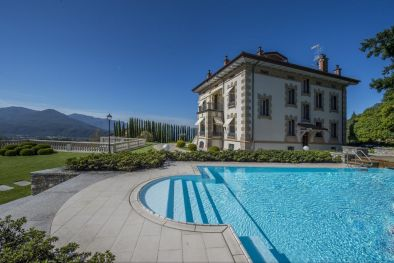 VILLA LAGO MAGGIORE: LUXURY VILLA WITH LAKE VIEW IN LUINO, Lake Maggiore. Property for sale Lake Maggiore  Maggiori Dettagli e Foto
