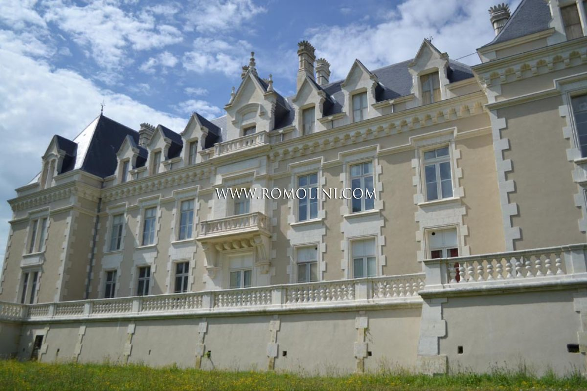 Chateau in france charming hotel for sale in cognac france for Cognac hotel