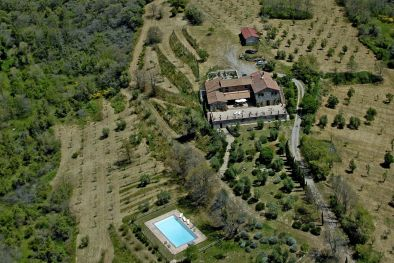 88-HECTARE ESTATE WITH STONE COUNTRY HOUSE FOR SALE IN UMBRIA, MONTEGABBIONE