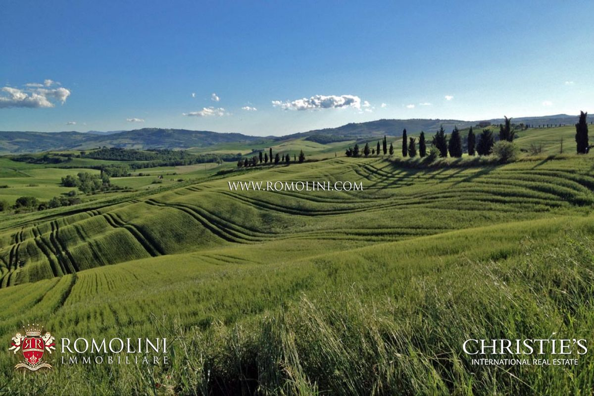 8 HA FARM WITH AGRITURISMO IN VAL D'ORCIA: Property for sale in Val d'Orcia, Tuscany, Siena