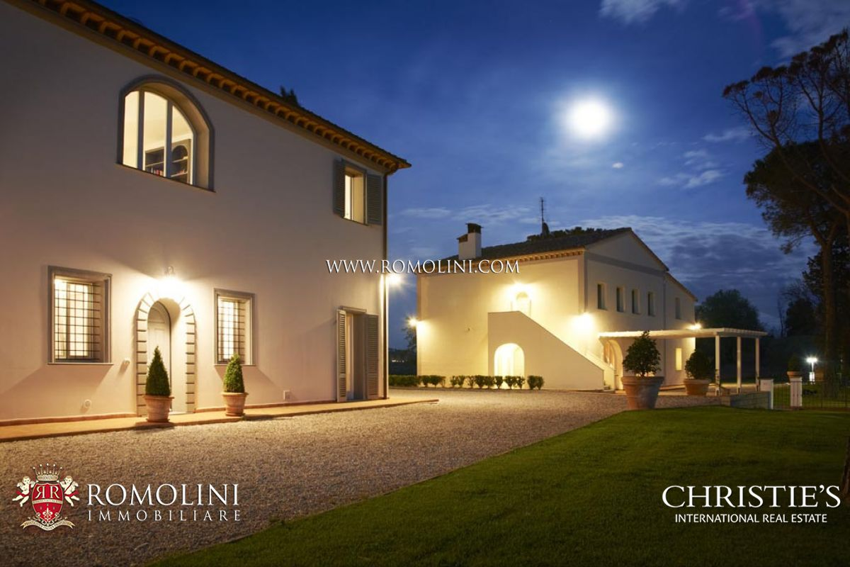 EXCLUSIVE ESTATE, LUXURY VILLA, VINEYARDS (Syrah, Marselan, Sangiovese), OLIVE GROVE FOR SALE ǀ Pisa, Italy