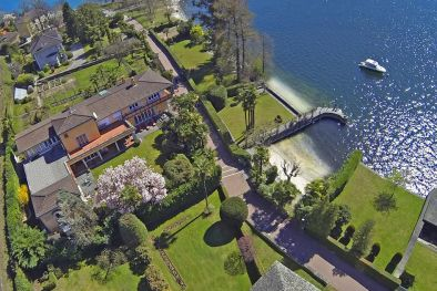 LUXURY VILLA, PRIVATE PIER, FOR SALE LOCARNO ǀ Lake Maggiore