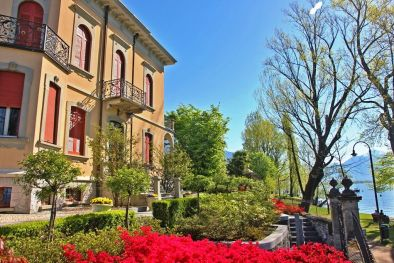 LAKEFRONT VILLA WITH POOL FOR SALE IN LOCARNO, Lake Maggiore