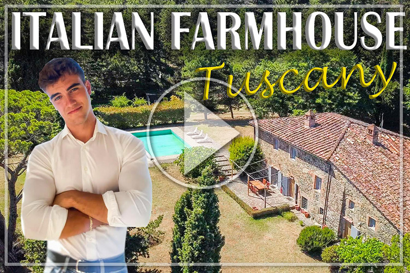 A 360-DEGREE TOUR OF THIS BEAUTIFULLY RESTORED TUSCAN FARMHOUSE NEAR ANGHIARI
