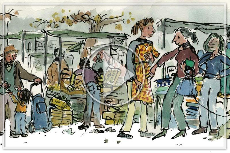QUENTIN BLAKE - A RETROSPECTIVE: 40 YEARS OF ALTERNATIVE VERSIONS - Romolini | Christie's