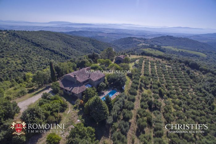 HAMLET WITH STUNNING VIEWS SALE MARSCIANO UMBRIA