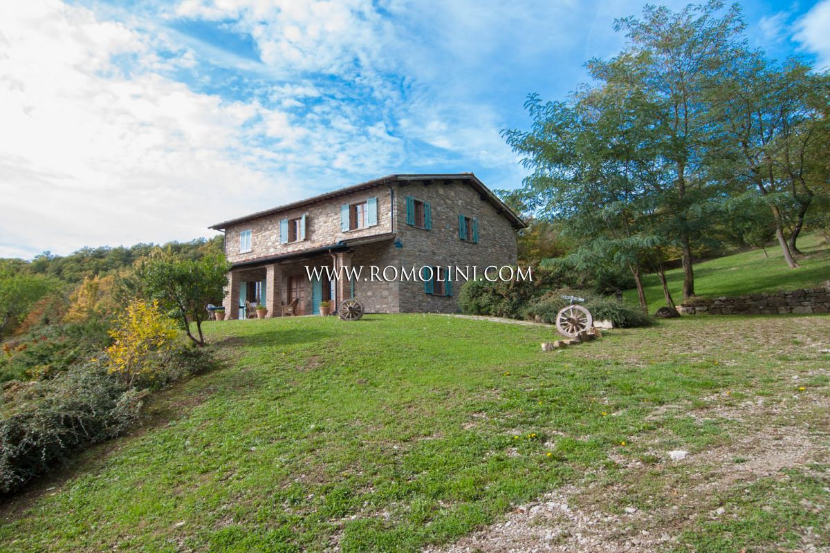 COUNTRY HOUSE FOR SALE IN THE COUNTRYSIDE, AREZZO, TUSCANY