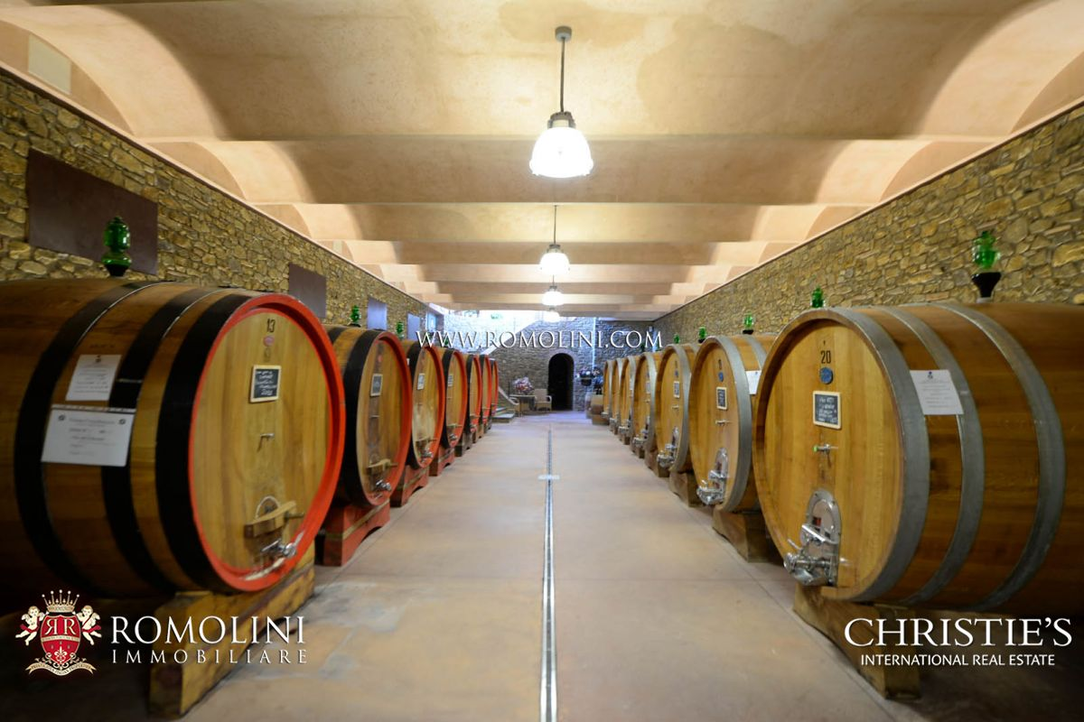 BRUNELLO DI MONTALCINO: STATE-OF-THE-ART TUSCAN WINE CELLAR, FOR SALE, TUSCANY, SANT'ANTIMO, AGRITURISMO