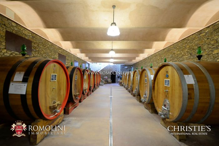 BRUNELLO DI MONTALCINO: STATE-OF-THE-ART WINE CELLAR FOR SALE