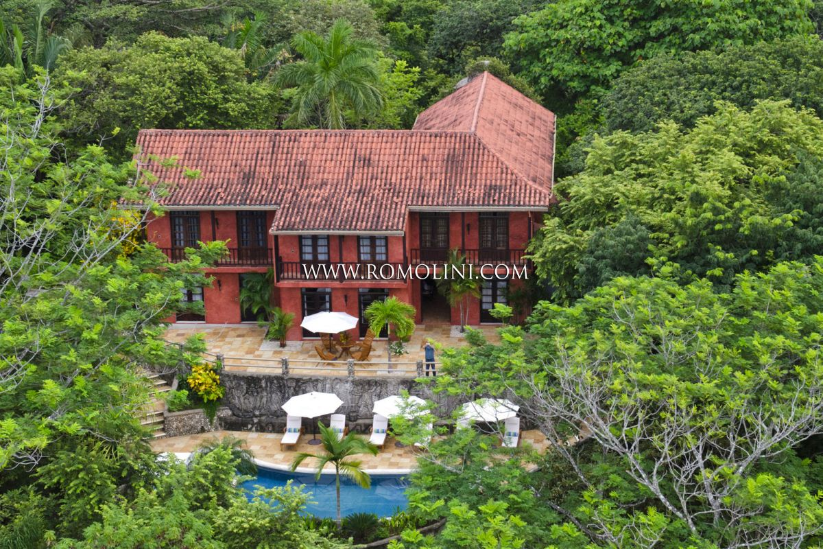 FORMER MEL GIBSON'S VILLA FOR SALE IN PLAYA BARRIGONA, PACIFIC COAST, COSTA RICA