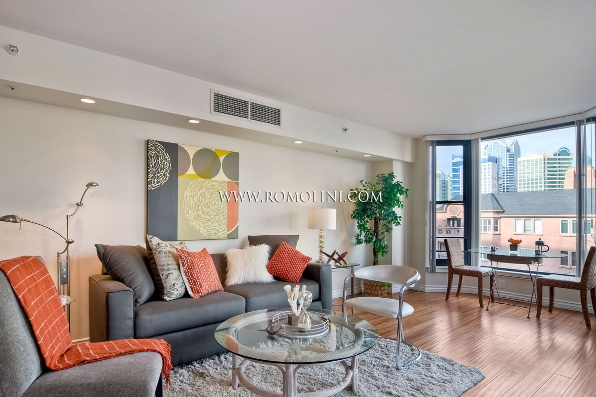 SAN DIEGO, W HARBOR DR: LUXURY APARTMENT WITH PANORAMIC TERRACE