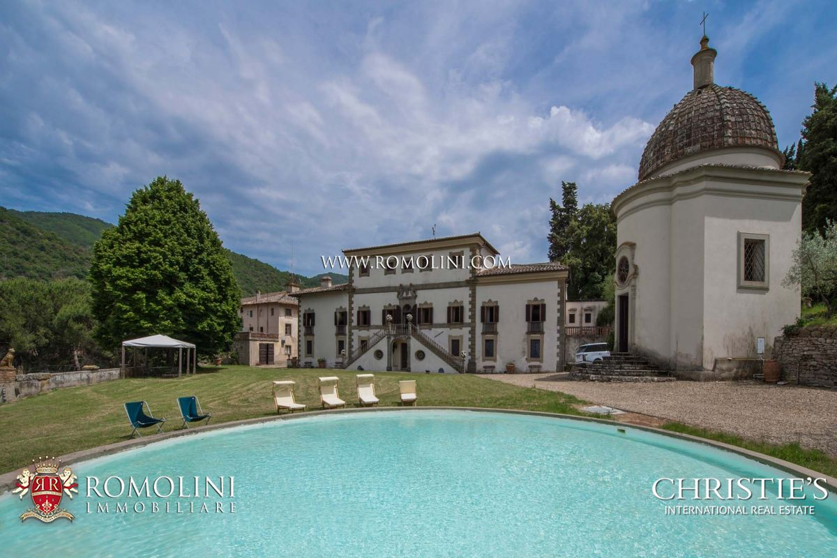 BEAUTIFUL MANOR VILLA FOR SALE IN CHIANTI CLASSICO, TUSCANY | Romolini - Christie's