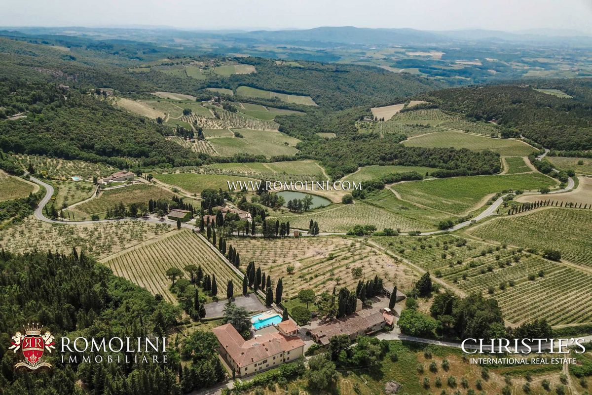 WINE ESTATE FOR SALE CHIANTI CLASSICO