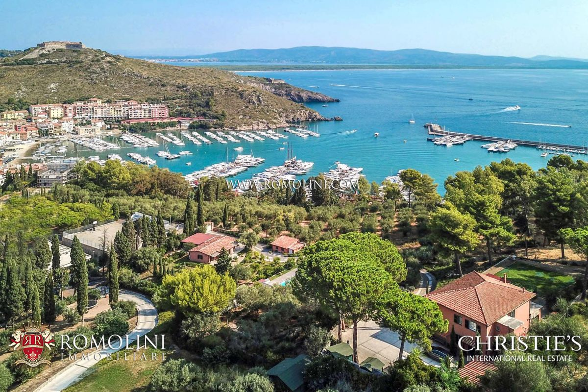 SEA VIEW LUXURY VILLA FOR SALE IN PORTO ERCOLE, ARGENTARIO