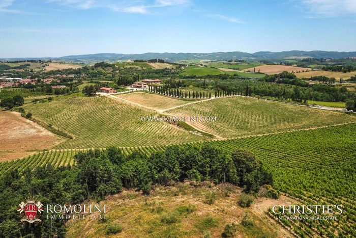 WINE ESTATE FOR SALE IN SIENA, CHIANTI COLLI SENESI DOCG