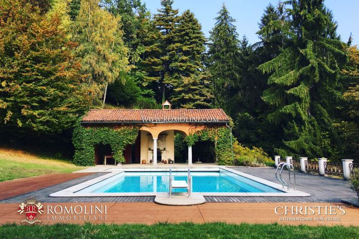 HISTORIC VILLA FOR SALE IN BIELLA, PIEDMONT