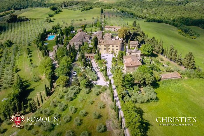 BOUTIQUE HOTEL FOR SALE VAL D'ORCIA, TUSCANY