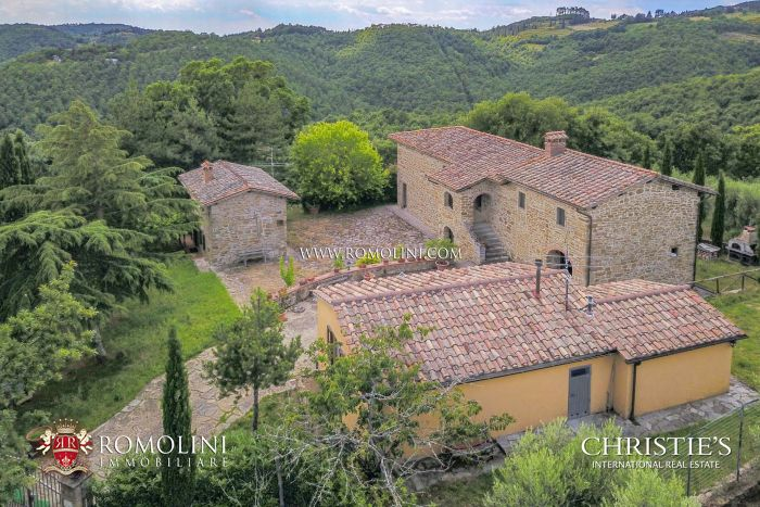 ESTATE WITH HUNTING RESERVE FOR SALE IN TUSCANY, ANGHIARI