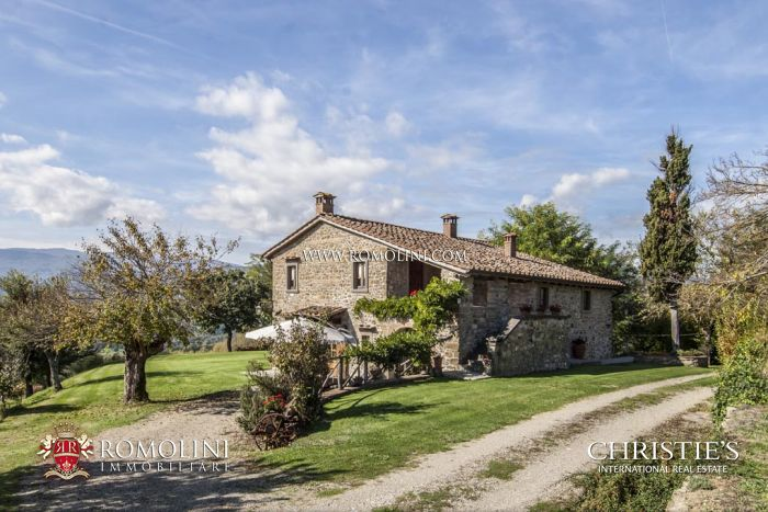 FARMHOUSE FOR SALE IN POPPI, CASENTINO, TUSCANY - Farmhouse for sale in Italy