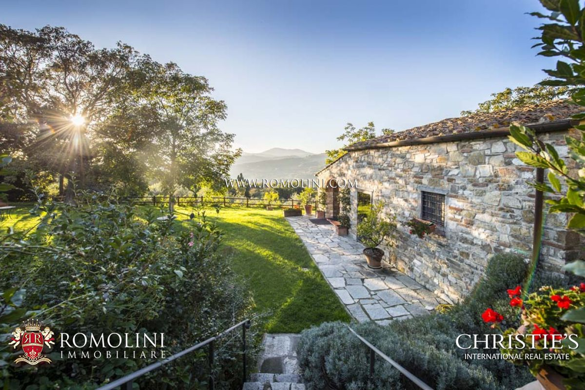 ORGANIC FARM ESTATE WITH AGRITURISMO FOR SALE IN FIESOLE