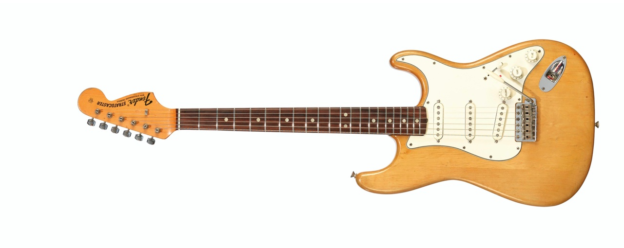 Fender Electric Instrument Company, Stratocaster, Fullerton CA, 1969 – Sold for $ 423,000