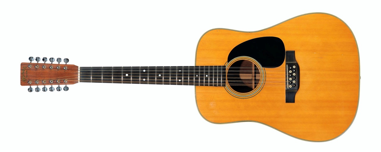 C. F. Martin & Company, D-12-28 12-string Acoustic Guitar, Nazareth PA, 1971 – Sold for $ 531,000