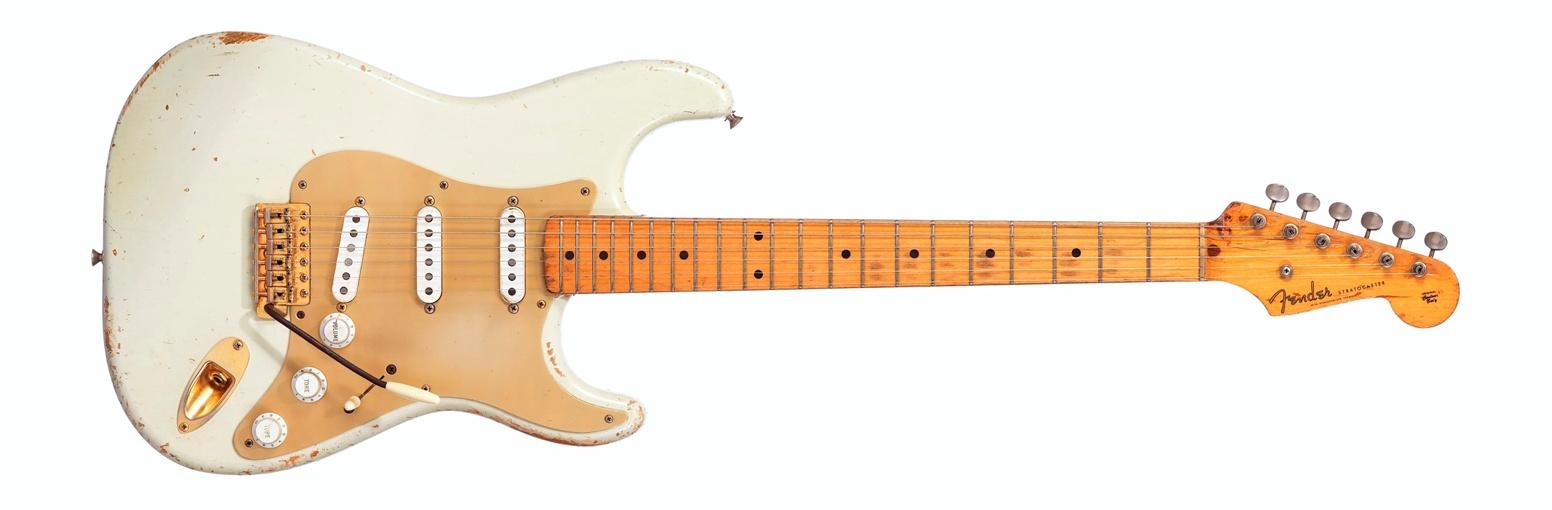 Fender Electric Instrument Company, Stratocaster #0001, Fullerton CA, 1954 – Sold for $ 1,815,000