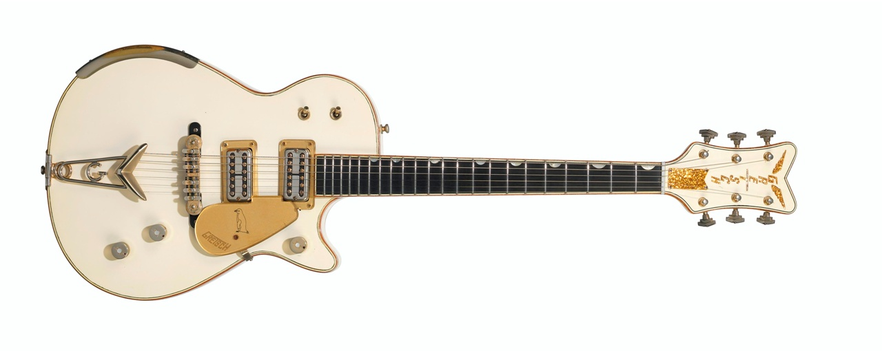 The Fred Gretsch Manufacturing Company, White Penguin, Brooklyn NY, 1958 – Sold for $ 447,000