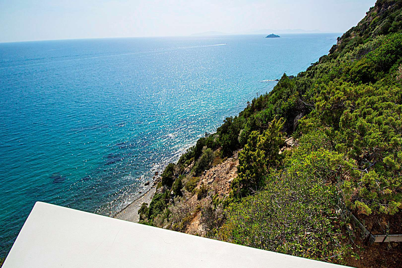 Sea view villa in Punta Ala